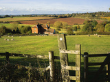 Vew from the Monarchs Way Long Distance Footpath  Tardebigge  Worcestershire  England  United Kingd