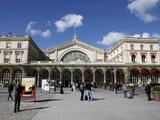 Gare De L'Est Railway Station  Paris  France  Europe