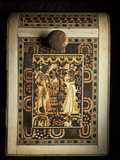 An Ivory-Paneled Box Shows King Tut With His Beloved Queen