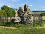 The Rollright Stones  an Ancient Site on the Border of Oxfordshire and Warwickshire  England  Unite