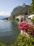 Town and Lakeside  Menaggio  Lake Como  Lombardy  Italian Lakes  Italy  Europe