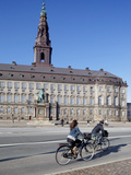 Christiansborg Palace  Copenhagen  Denmark  Scandinavia  Europe