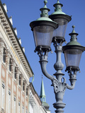 Ornate Street Lamp  Copenhagen  Denmark  Scandinavia  Europe