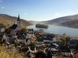 Lorch  Rhine Valley  Hesse  Germany  Europe