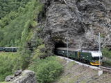 Flam Railway  Flam  Sogn Og Fjordane  Norway  Scandinavia  Europe