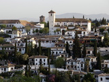 View of the Albaicin  Granada  Andalucia  Spain  Europe