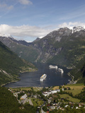 Geiranger Fjord  UNESCO World Heritage Site  More Og Romsdal  Norway  Scandinavia  Europe