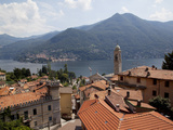 Lakeside Village  Lake Como  Lombardy  Italian Lakes  Italy  Europe