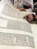 Reading the Book of Esther During Purim Celebration in a Synagogue  Montrouge  Hauts-De-Seine  Fran