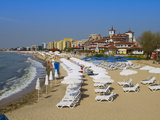 Main Beach  Sveti Vlas  Black Sea Coast  Bulgaria  Europe