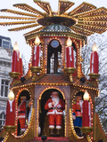 The Annual Frankfurt Christmas Market  Birmingham  West Midlands  England  United Kingdom  Europe