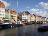 Nyhavn  Copenhagen  Denmark  Scandinavia  Europe