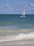 Catamaran  Bavaro Beach  Punta Cana  Dominican Republic  West Indies  Caribbean  Central America