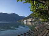 Lake of Lugano  Lugano  Canton Tessin  Switzerland  Europe