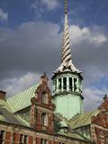 Old Stock Exchange  Copenhagen  Denmark  Scandinavia  Europe