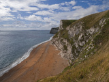 Jurassic Coast  UNESCO World Heritage Site  Dorset  England  United Kingdom  Europe