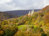 Castell Coch  Tongwynlais  Cardiff  South Wales  Wales  United Kingdom  Europe
