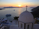 Fira  Santorini  Cyclades Islands  Greek Islands  Greece  Europe