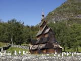 Borgund Stave Church  Sogn Og Fjordane  Norway  Scandinavia  Europe