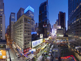 Broadway Looking Towards Times Square  Manhattan  New York City  New York  United States of America