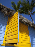 Colourful Hut  Bavaro Beach  Punta Cana  Dominican Republic  West Indies  Caribbean  Central Americ