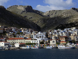 The Town of Pothia Seen from the Sea  Kalymnos Island  Dodecanese  Greek Islands  Greece  Europe