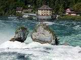 Rhine Falls  Schaffhausen  Switzerland  Europe
