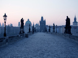 Charles Bridge  UNESCO World Heritage Site  Old Town  Prague  Czech Republic  Europe