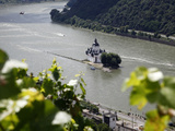 Pfalzgrafenstein Castle  Kaub  Rhine Valley  Rhineland-Palatinate  Germany  Europe