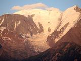 Mont Blanc Mountain Range and Bionnassay Glacier  St Gervais  Haute-Savoie  French Alps  France  E