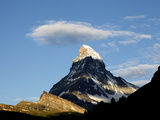 Cloud Above the Matterhorn  Zermatt  Valais  Swiss Alps  Switzerland  Europe