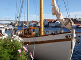 Traditional Wooden Boat  Colin Archer Type  Haugesund  Norway  Scandinavia  Europe