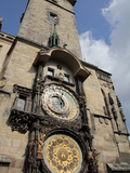 Astronomical Clock  Old Town Hall  Prague  Czech Republic  Europe