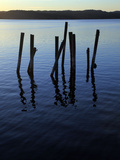 A Disused Pier Fallen into Ruins  Bohuslan  West Coast of Sweden  Scandinavia  Europe
