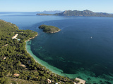 Playa Formentor and Hotel Formentor  Mallorca  Balearic Islands  Spain  Mediterranean  Europe
