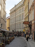 Karlova Street  Old Town  Prague  Czech Republic  Europe