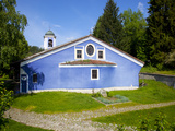 Blue Walled Church of Sveta Bogoroditsa (Uspenie Bogorodichno Church)  Old Town  Koprivshtitsa  Bul