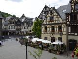 Market Square  Oberwesel  Rhine Valley  Rhineland-Palatinate  Germany  Europe