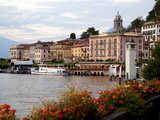 Town of Bellagio  Lake Como  Lombardy  Italian Lakes  Italy  Europe