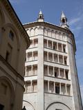 The Baptistry  Parma  Emilia Romagna  Italy  Europe