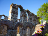 Ruins of St Sofia Church  the Old Metropolitan Church  the Bishop's Palace  Old Town  UNESCO World