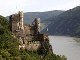Rheinstein Castle Near Trechtingshausen  Rhine Valley  Rhineland-Palatinate  Germany  Europe