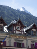 The Train Station  Chamonix  Haute Savoie  French Alps  France  Europe