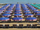 Beach at Cattolica  Adriatic Coast  Emilia-Romagna  Italy  Europe