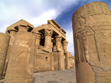 Kom Ombo Temple  Nile  Egypt  North Africa  Africa