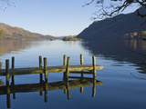 Lake Ullswater  Lake District National Park  Cumbria  United Kingdom  Europeuk