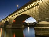 London Bridge in the Late Evening  Havasu  Arizona  United States of America  North America