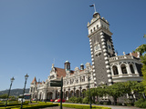 Railway Station  Dunedin  Otago  South Island  New Zealand  Pacific
