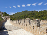 Newly Restored Section of the Great Wall of China  UNESCO World Heritage Site  Mutianyu  Beijing Di