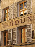 Old Advertising Sign on the Side of a Building  Aix-En-Provence  Bouches-Du-Rhone  Provence  France